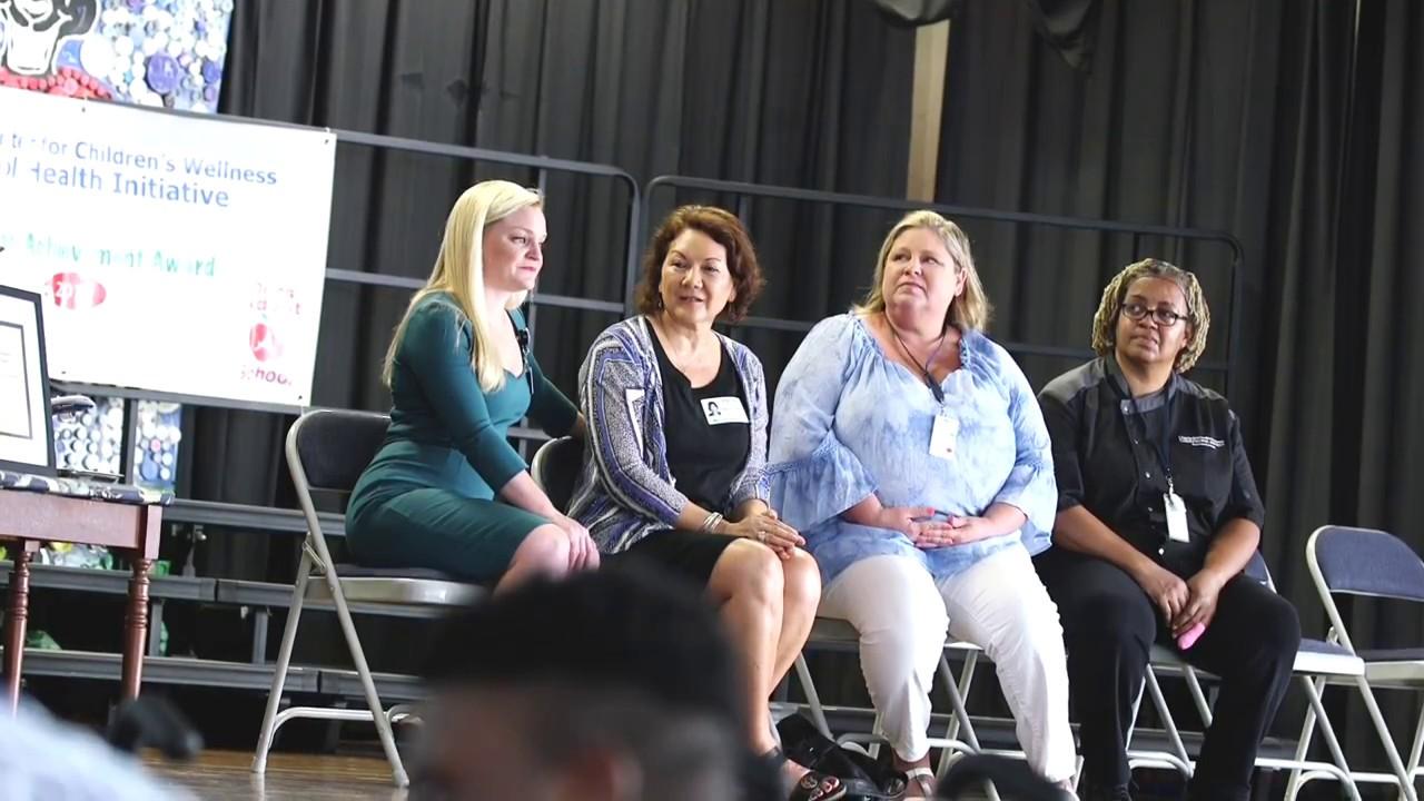 Mary Ford Elementary Wins 2017 Wellness Award Video