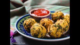 Rice and Sukuma Wiki Bhajia