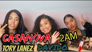 Casanova   2AM Ft. Tory Lanez, Davido REACTIONREVIEW