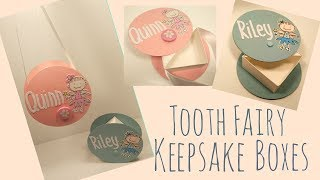 Swivel Lid Tooth Fairy Keepsake Box Video Tutorial