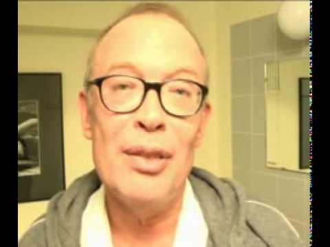 Schouwblog - Frans Mulder (Purper) backstage in Schouwburg Cuijk