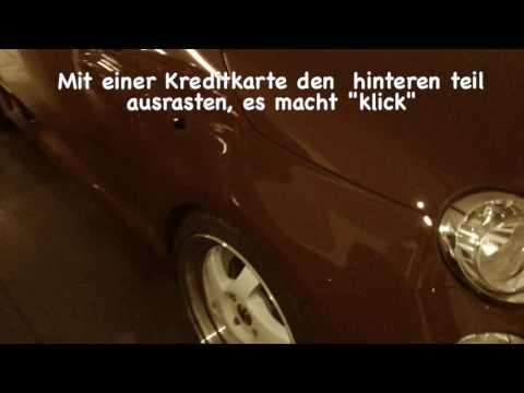 Fiat 500 Seitenblinker ausbauen/Remove side indicator Fiat 500( ENG.SUB.)