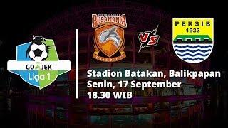 Live Streaming Indosiar Liga 1 Indonesia, Borneo FC Vs Persib Bandung Pukul 18.30 WIB