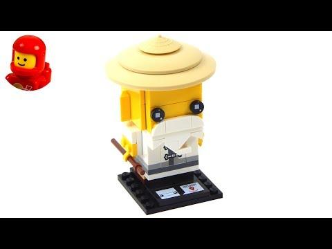 Vidéo LEGO BrickHeadz 41488 : Maître Wu
