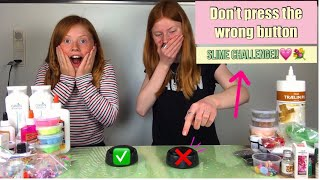 DON'T PRESS THE WRONG BUTTON(Slime Challenge)