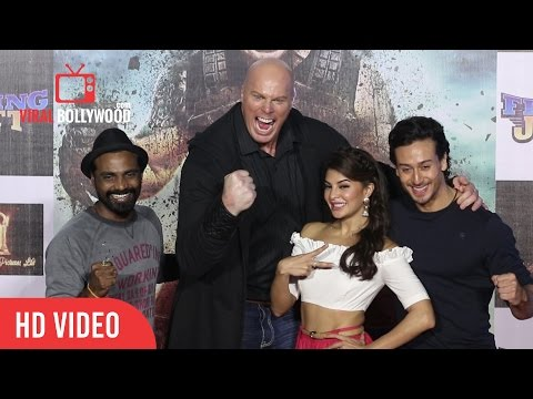A Flying Jatt Official Trailer Launch | Tiger Shroff, Jacqueline Fernandez, Nathan Jones