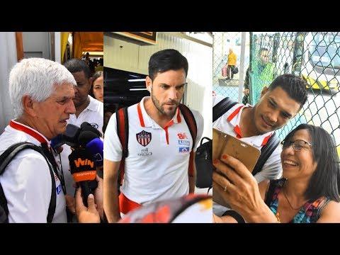 Junior llego a Barranquilla tras conseguir su paso a la final de la Liga Águila II 2019