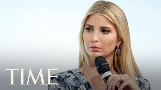 What Ivanka Trump Got Booed For: Trump Says Her Father Supports Women   TIME