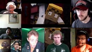 Drawn to the Bitter 2 : Charlotte   FNAF Minecraft Animated Short Film [REACTION MASH-UP]#1006