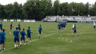 Juventus-Roma: Juventus Practice(2)