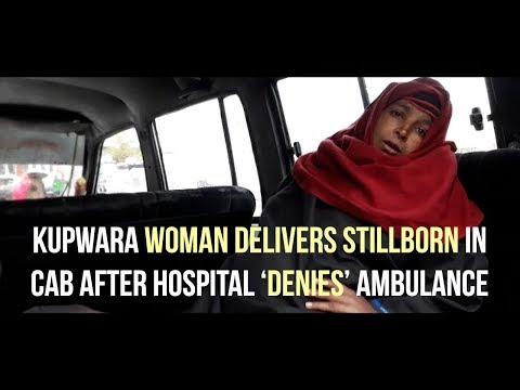 Kupwara woman delivers stillborn in cab after hospital 'denies' ambulance
