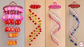 5 Amazing Chandelier Making || DIY Wind Chime Idea || Handmade Home Decor Craft