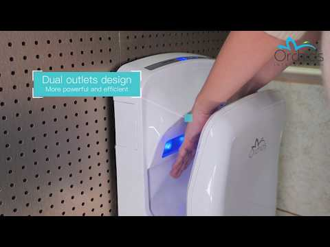 Orchids ABS Plastic Body Jet Hand Dryer