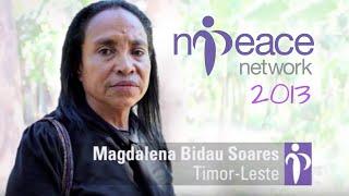 An ex-guerrilla fighter turned peace advocate: Magdalena Bidau Soares wins the N-Peace Awards 2013