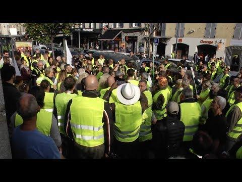 VIDEO. Revivez la journée de mobilisation des gilets jaunes à Ajaccio