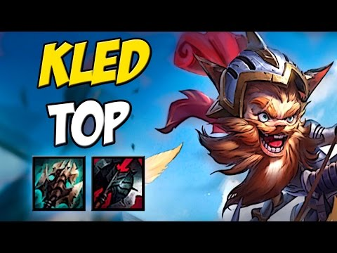 KLED TOP GAMEPLAY - League of Legends - Eterno lol