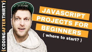 Javascript Projects For Beginners [ focus on coding and not your portfolio ]
