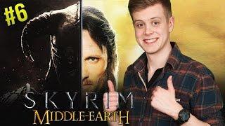 ZIEKE SKYRIM TACTIEK! Skyrim: Middle-Earth Mod #6