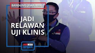 Resmi Ajukan Diri sebagai Relawan Uji Vaksin Covid-19, Ridwan Kamil: Tunggu Proses Seleksi