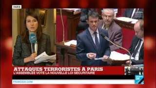 L'État d'urgence prolongé de 3 mois en France - Vote à la quasi-unanimité