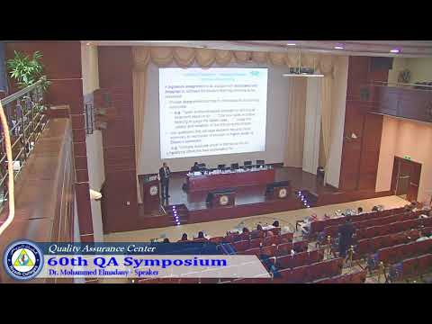 60th QA Symposium - Part1
