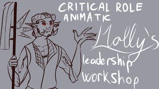 Critical Role Animatic | Molly's Leadership Workshop