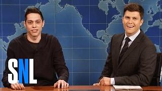 Weekend Update: Pete Davidson on Going Bald - SNL