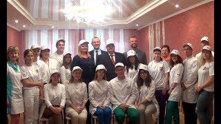 Встреча министра здравоохранения Андрея Цветкова со студентами медицинского отряда «Пульс»