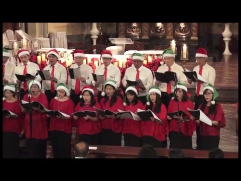 Gloria in excelsis deo   konser natal 2015 saint peter choir katedral jakarta