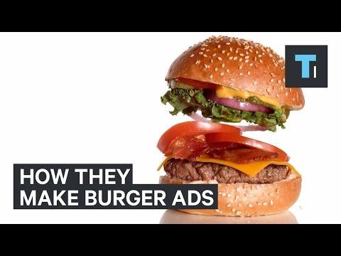Πως φαίνονται τόσο λαχταριστά τα burger στις διαφημίσεις
