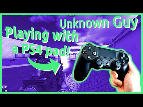 Playing Skillwarz with a PS4 pad!
