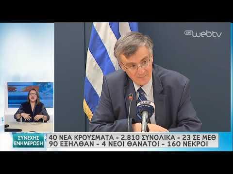 Τσιόδρας: Ακόμα και για «καλό» λόγο να συνωστιζόμαστε υπάρχει κίνδυνος   15/05/2020   ΕΡΤ