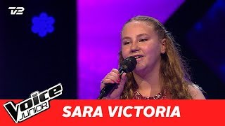 "Sara Victoria | ""A Thousand Years"" af Christina Perri | Blind 2 | Voice Junior Danmark 2017"