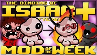 The Binding of Isaac: Afterbirth+ - Mod of the Week: GENETIC SPLICING! (Incredible New Character)