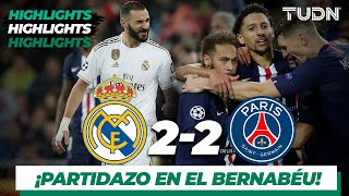 Highlights   Real Madrid 2 - 2 PSG   Champions League - J5 - Grupo A   TUDN