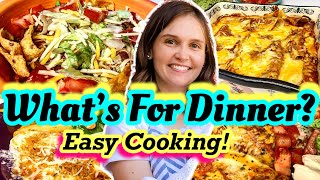 Whats For Dinner!? | Easy & Budget Friendly Family Meal Ideas | Simple Meals | High Quality