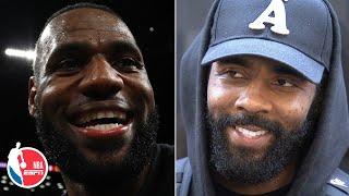 Kyrie Irving: Friendship with LeBron goes far beyond basketball   NBA Sound