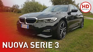 BMW Serie 3: come va su strada la 320d G20 e confronto con F30