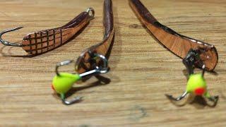 Самодельные мормышки для зимней рыбалки на окуня