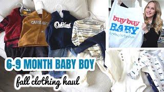 BABY BOY CLOTHING HAUL | Carhartt, OshKosh, Carters, Burts Bees Baby