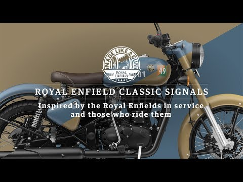 Royal Enfield Classic 350 Signals