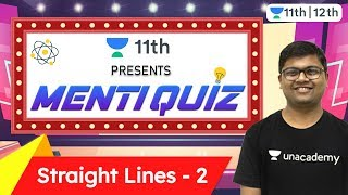 CBSE Class 11: Straight Lines | Menti Quiz 2 | Maths | CBSE | Unacademy Class 11 & 12 | Umesh Sir - Download this Video in MP3, M4A, WEBM, MP4, 3GP