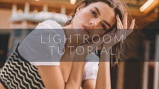 Edit Like Magazine Editorials!! LIGHTROOM TUTORIAL + FREE PRESET DOWNLOAD