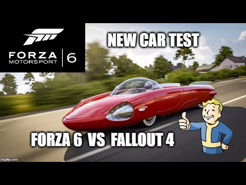 Forza Motorsport 6 NEW Fallout 4 Car Test