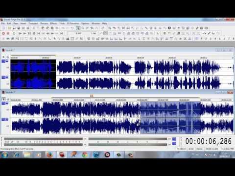 Suavizando mixagem - Sound Forge (Locutor Kiko)
