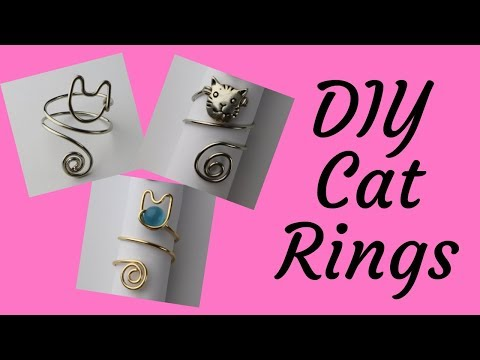 DIY Cat Rings Tutorial