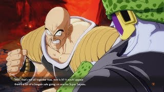 DRAGON BALL FIGHTERZ Cell Roasts Nappa
