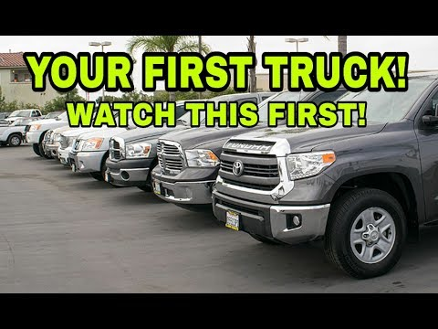 Buying your first pickup truck! Watch this first! Part 1
