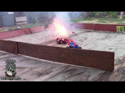 Super Amazing RC Car Death Match!!! FIRE!!!!
