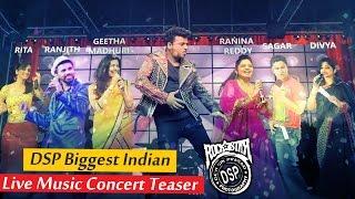 Devi Sri Prasad's Biggest Indian Live Music Concert Teaser 3 3 3